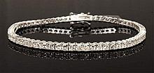 4.87ct Diamond 18K Bracelet