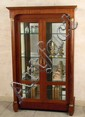 1930's French Empire Style Display Cabinet