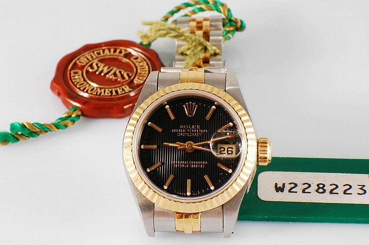 Ladies' Two-Tone Rolex Datejust