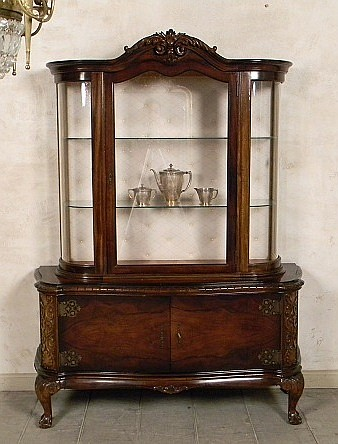 1950's European, Chippendale style, Curio