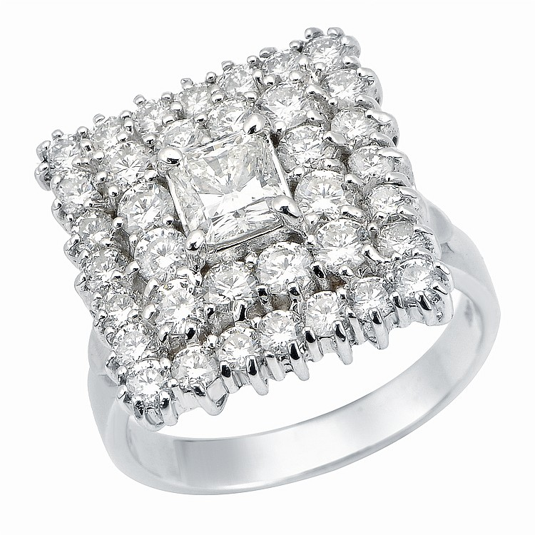 3.5ct Diamond Ring