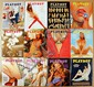 Vintage 1973 Playboy Magazines. - 12 Issues