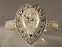 2.38 ct Diamond Ring in White Gold