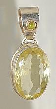 Peridot & Lemon Quartz Bracelet