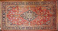 Hand woven Persian Tabriz 4'9