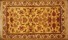 Hand Woven Wool Agra Rug 3' x 4'