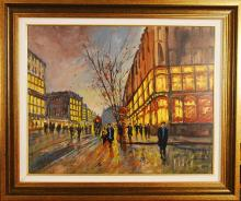 Michael Schofield, Original Oil on Canvas, Signed