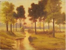 William L Herbert, Original Oil on Canvas