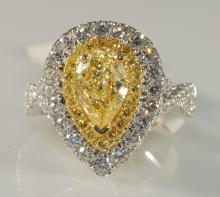 2.47 Carat Diamond Ring 18KT