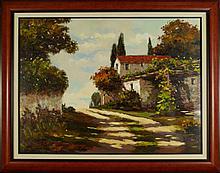 Listed Artist, Original Oil on Canvas