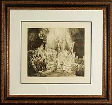 Amand Durand after Rembrandt Hand Pulled Etching