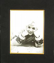 George Barris, Marilyn Monroe, Signed Photograph