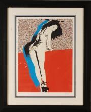 Rod Dyer, Pop Art Dancer,  Hand Signed & Numbered