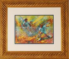 Mark KIng, Framed Serigraph