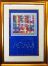 Agam, Framed Poster 38