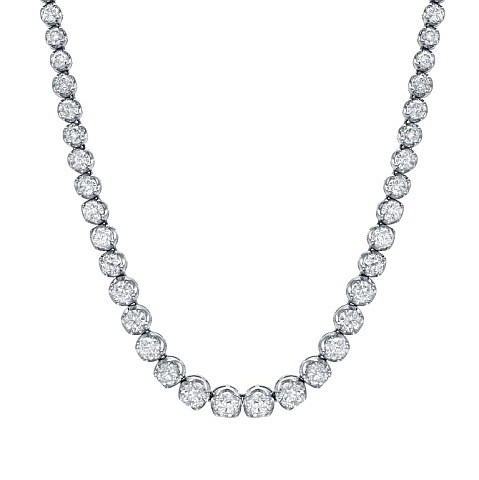 Elegant 16 TCW Diamond Necklace