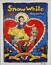 Leslie Lew, Original Sculpted Oil - Snow White