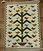 Tree of Life, Navajo Rug  Woven by Marie Begay