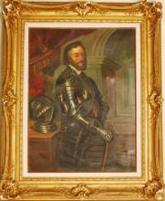 Original Oil on Canvas by F. Davidi Bonifent