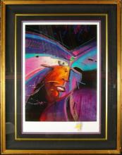 Christian Riese Lassen (C.R.L) Hand Signed