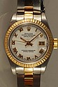 Ladies Rolex Datejust 2-Tone Watch 18K & SS Oyster