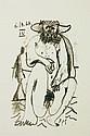 6.10.64 IV Picasso  Lithograph Le Gout de Bonheu