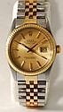 Rolex Datejust Gold and Stainless Steel Watch