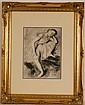 Edgar Degas Dancer GRAVURE SIGNED