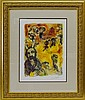 The Story of the Exodus III after Marc Chagall