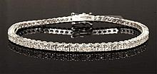 4.87ct Diamond 18K Bracelet