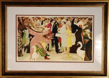Norman Rockwell Lithograph,