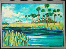 Rusell Sharon, Vivid Landscape, 1988