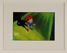 Pinocchio, Original Production cel and Drawing