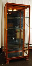 Austrian Art Nouveau Curio/Display Cabinet