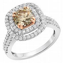 2.18 Carat Diamond Ring in 14K Gold