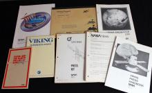 Eight Viking Press Kits and Booklets