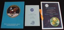 Three Apollo 11 Post-Mission Booklets