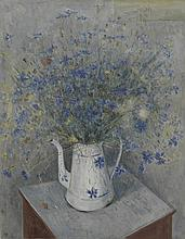 §LARIONOV, MIKHAIL (1881-1964), Still Life with Cornflowers