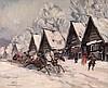 * KOROVIN, KONSTANTIN (1861-1939), Winter Landscape, signed and inscribed