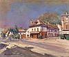 * KOROVIN, KONSTANTIN (1861-1939), A Street in the South of France, signed., Konstantin Korovin, £0
