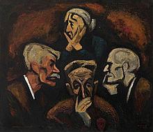 POPKOV, VIKTOR (1932-1974) Wake in Kashira , sign
