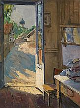 LAKHOVSKY, ARNOLD (1880-1937) View of a Street in