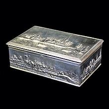 Dutch Scenic Cigar/Jewelry Box