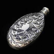 Derby Repousse Flask