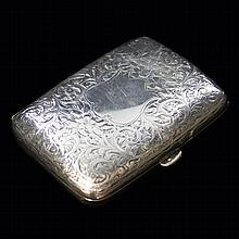 Vintage Sterling Cigarette Case