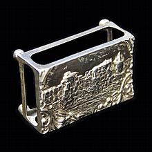 Crisford and Norris Repousse Matchbox Holder