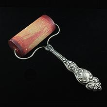 Sterling Repousse Ink Blotter Roller