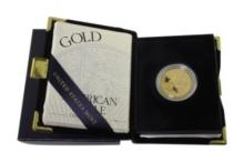 2001 American Eagle Gold Half Oz. Proof Coin