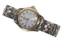 18k & Stainless Men's Omega Seamaster Watch