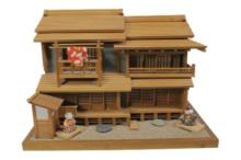 Miniature Japanese House Scale Model